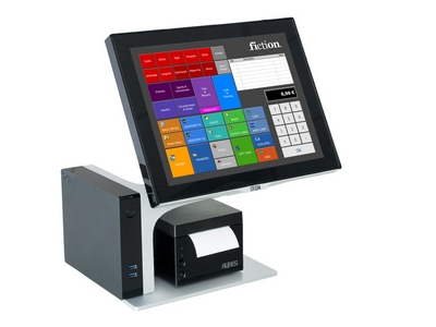 Cash register software using RFID card