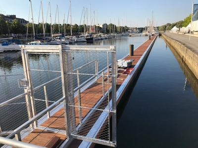 pontoon access control using RFID card