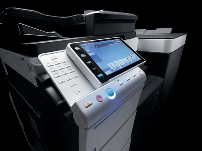 Contactless reader for photocopiers