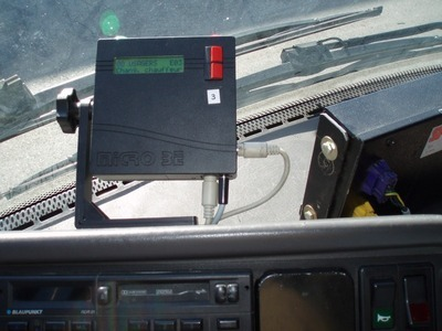 WIFI access control reader for buses