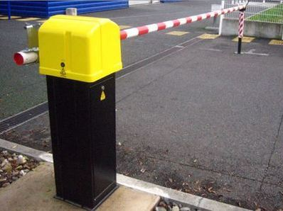 Automatic barriers using RFID badge