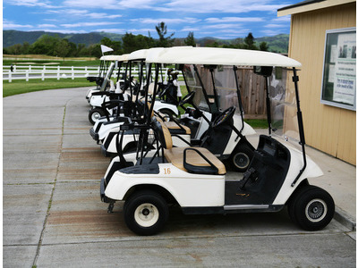 boggy golf cart using RFID card